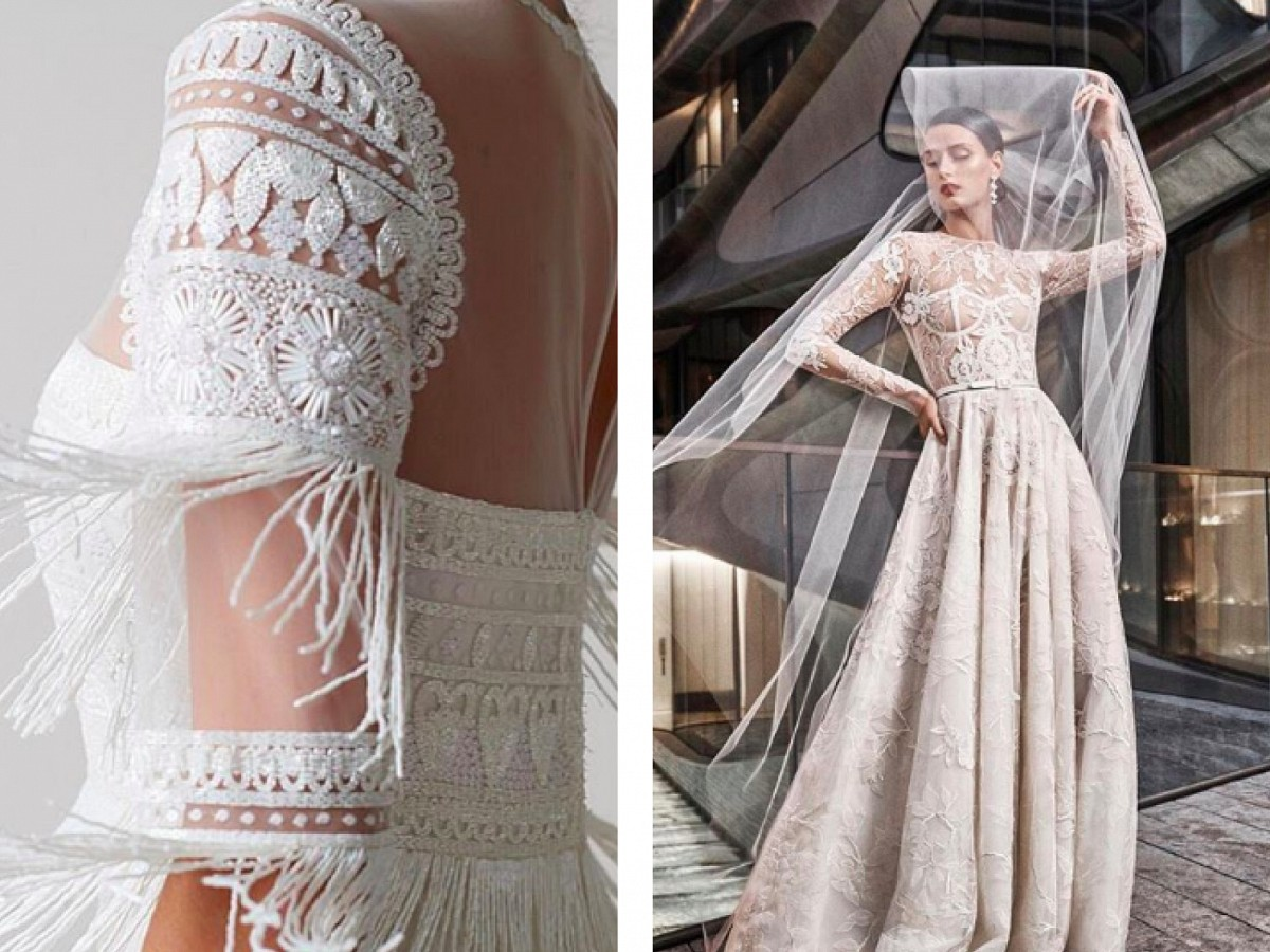 Top 6 Bridal Designers for a Fine Art Bride