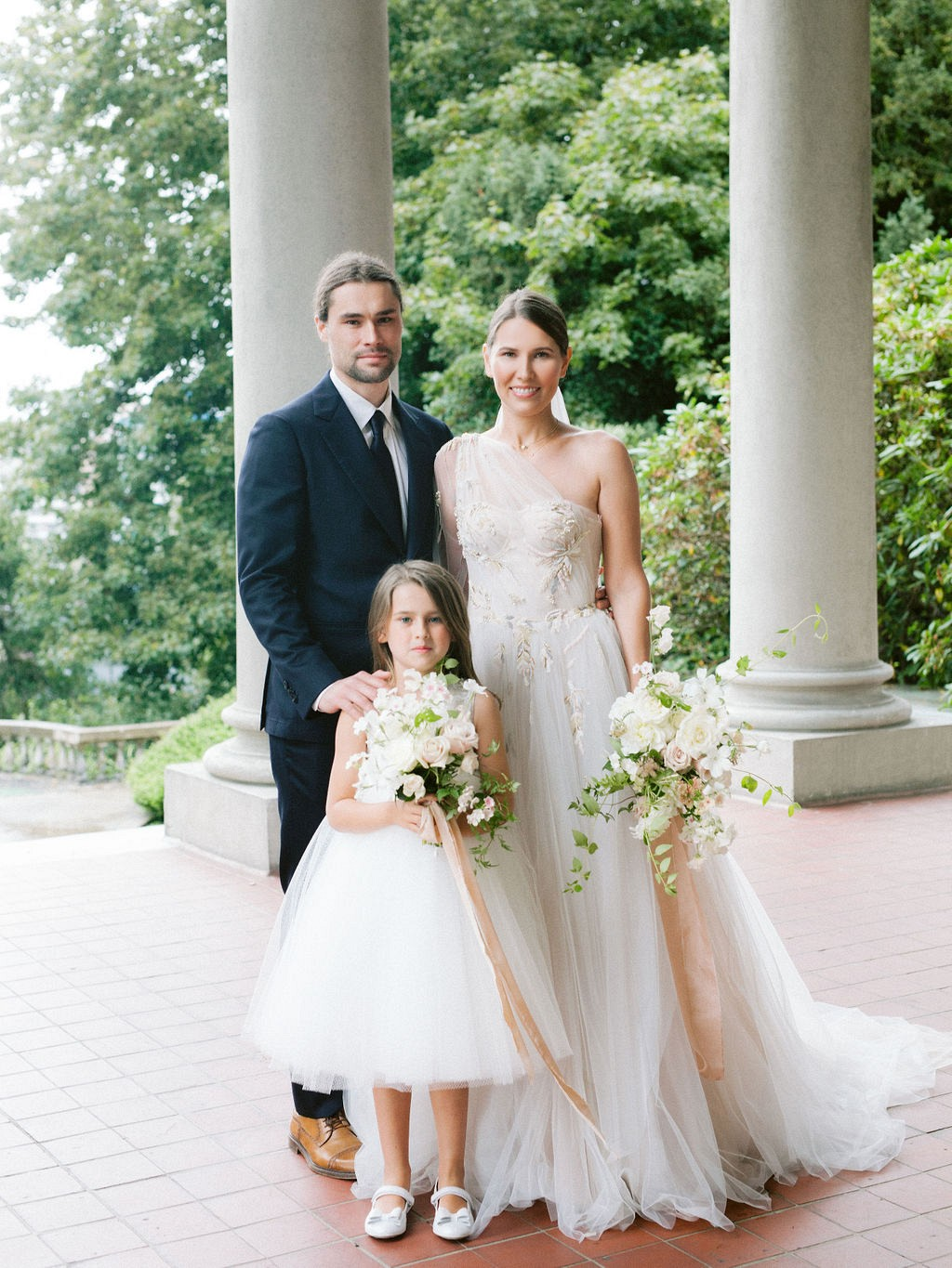 Rainy Day Elopement at Hycroft Manor