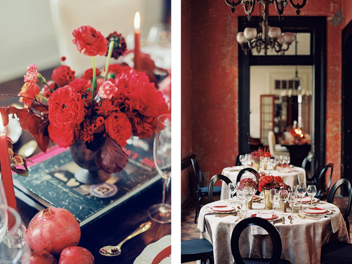Colorful Red French Quarter Wedding Ideas in New Orleans