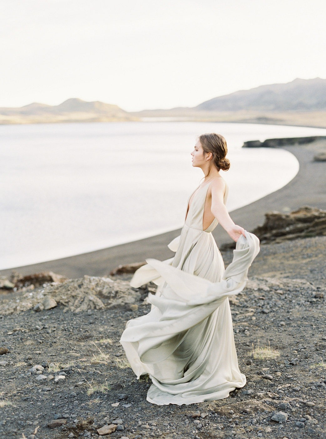 Light Versus Dark: An Emotional Icelandic Bridal Session