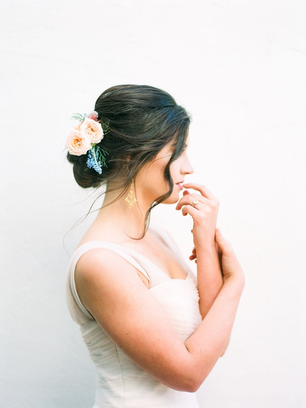 loose waves wedding hair styles