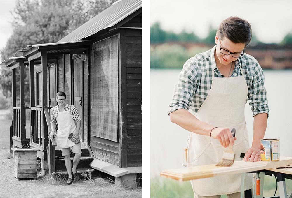 Olga and Alexs meaningful outdoor garden wedding | Wedding Sparrow fine art wedding blog