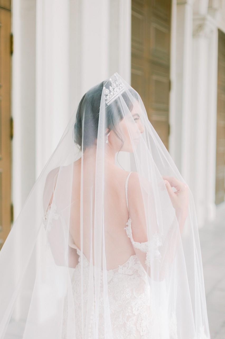 wedding veils - eden luxe