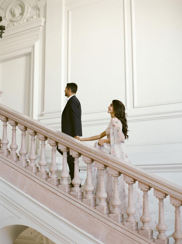 Elegant Italian Wedding Ideas with Blush Florals