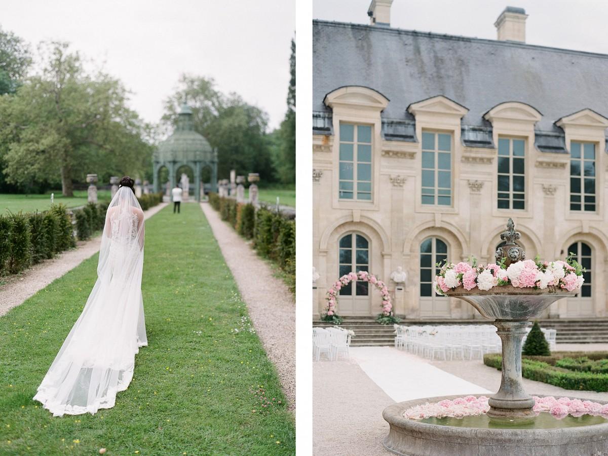chateau chantilly wedding