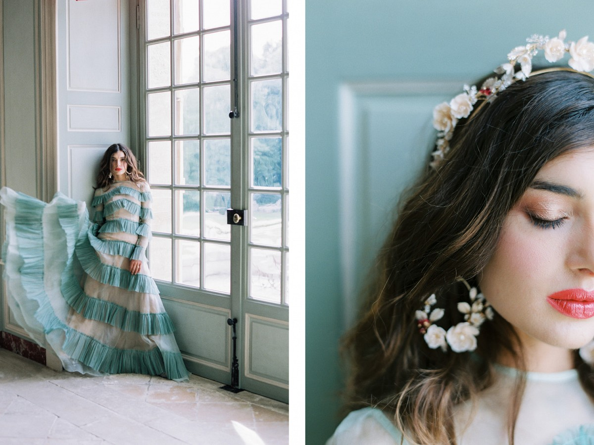 Bold Avante Garde Wedding Inspiration from Path Workshop
