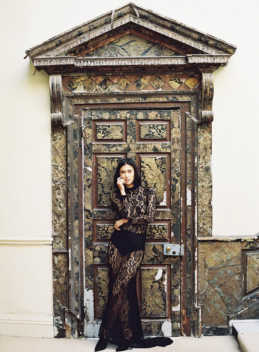 Modern Muse meets Old World Elegance