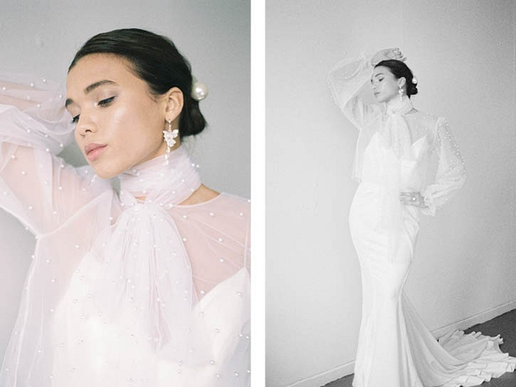 How Pearls and Dried Flowers are THE 2020 Wedding Trends