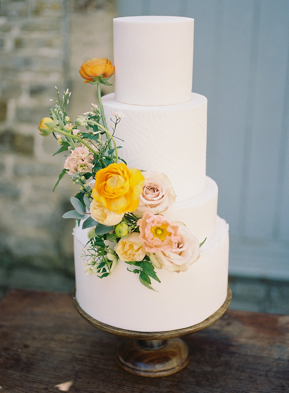 Warm color palette wedding ideas