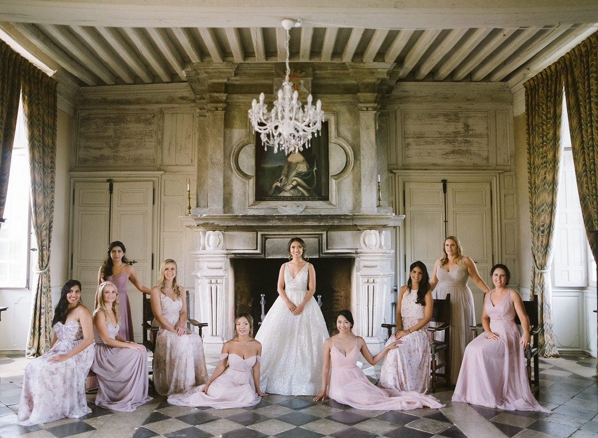 A French Chateau Wedding Like You've Never Seen Before