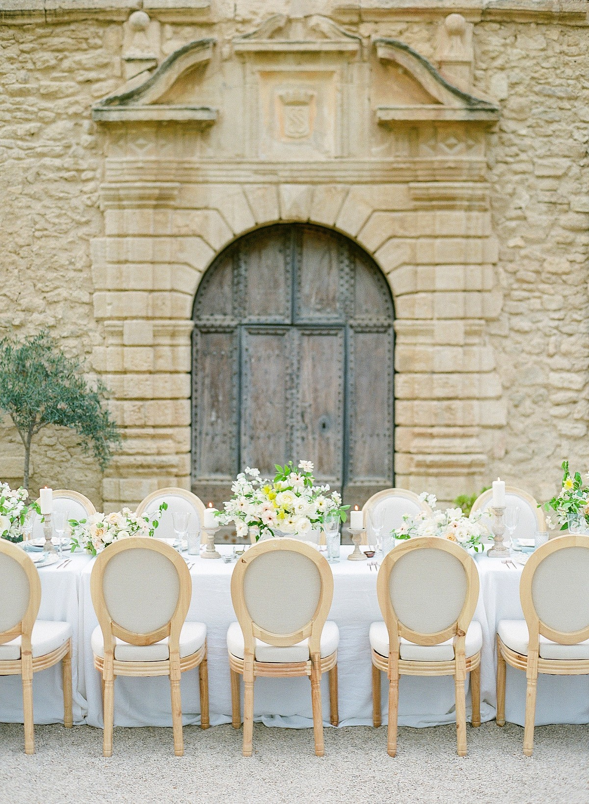 Elegant Elopement Inspiration in a French Chateau