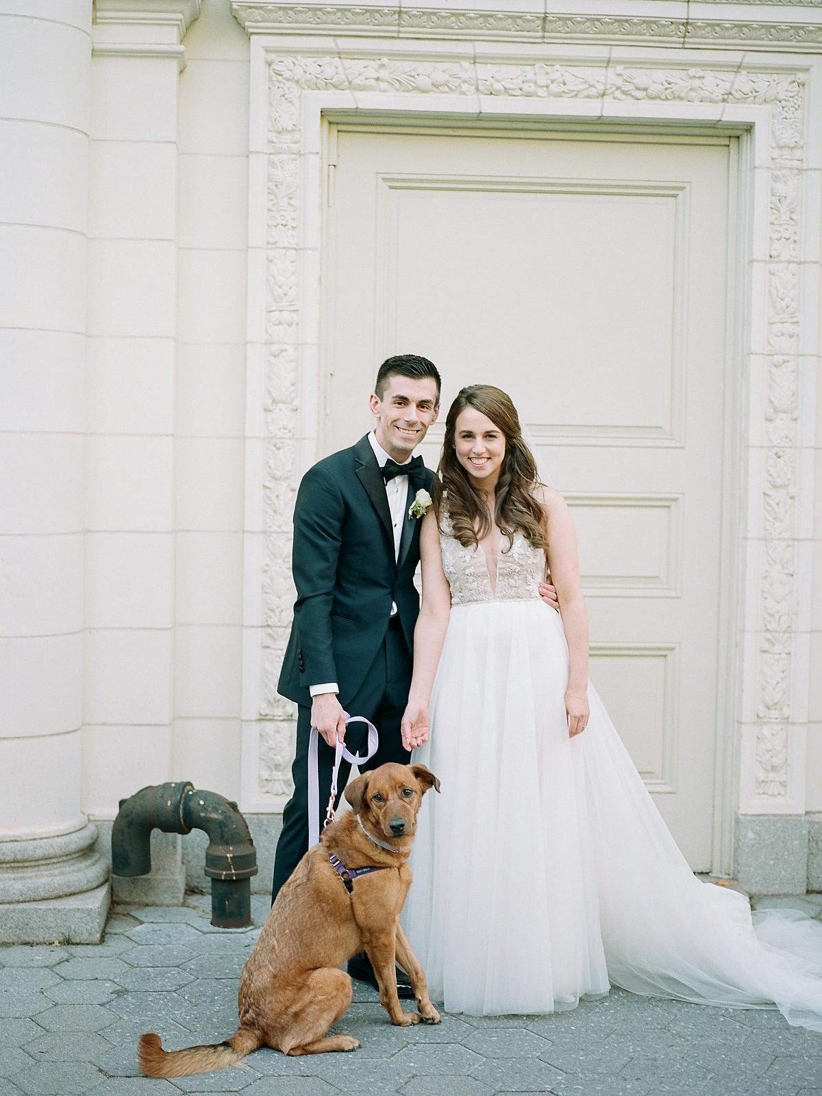 Prospect Park NYC Wedding with Funfetti Wedding Cake!