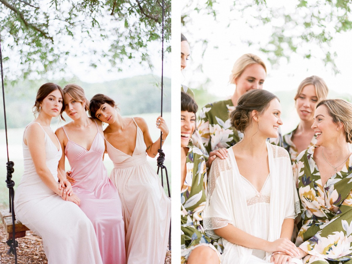 Romantic Outdoor Pastel Filled Jewish Wedding
