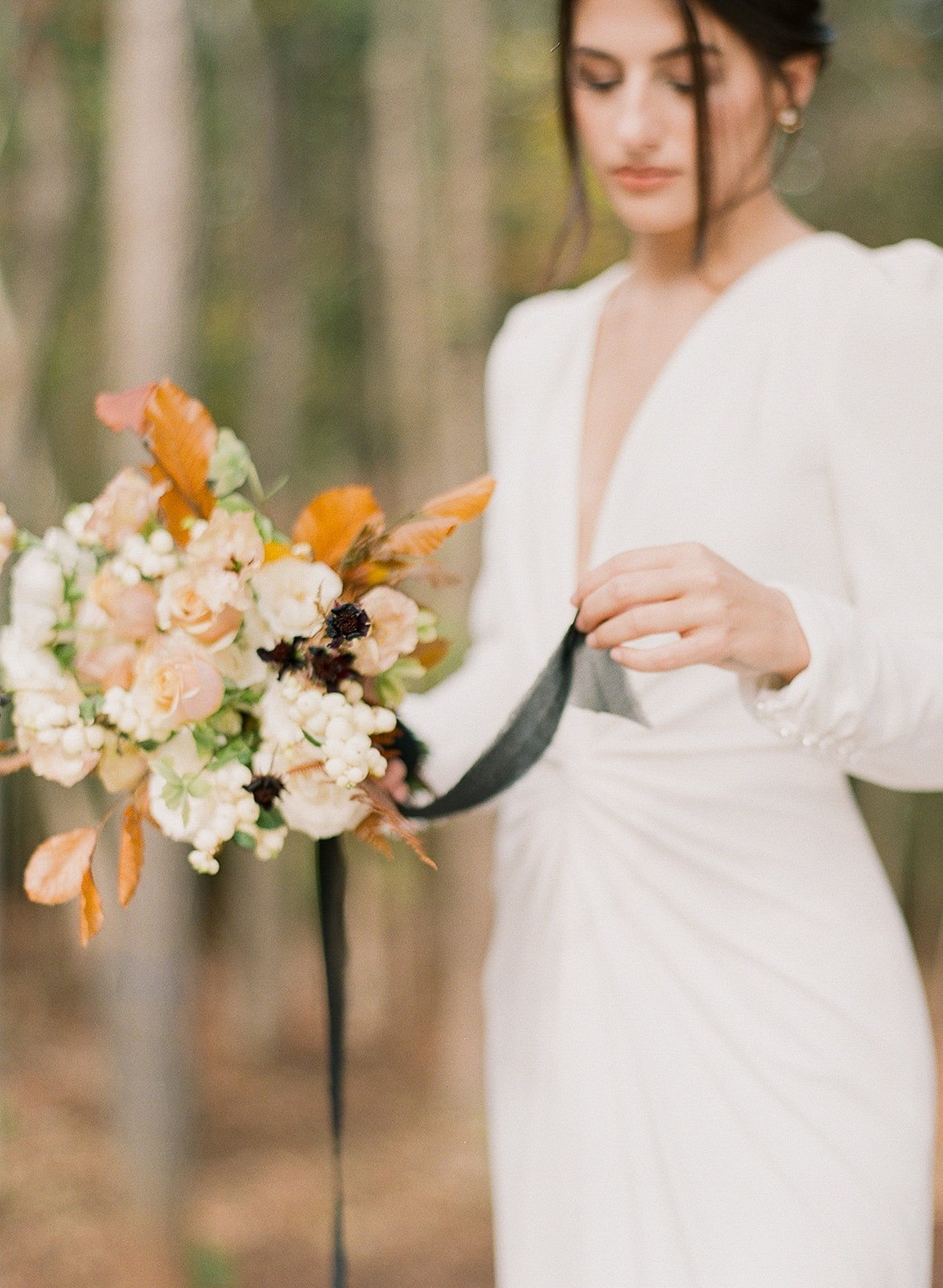 Fall bouquets and flowers