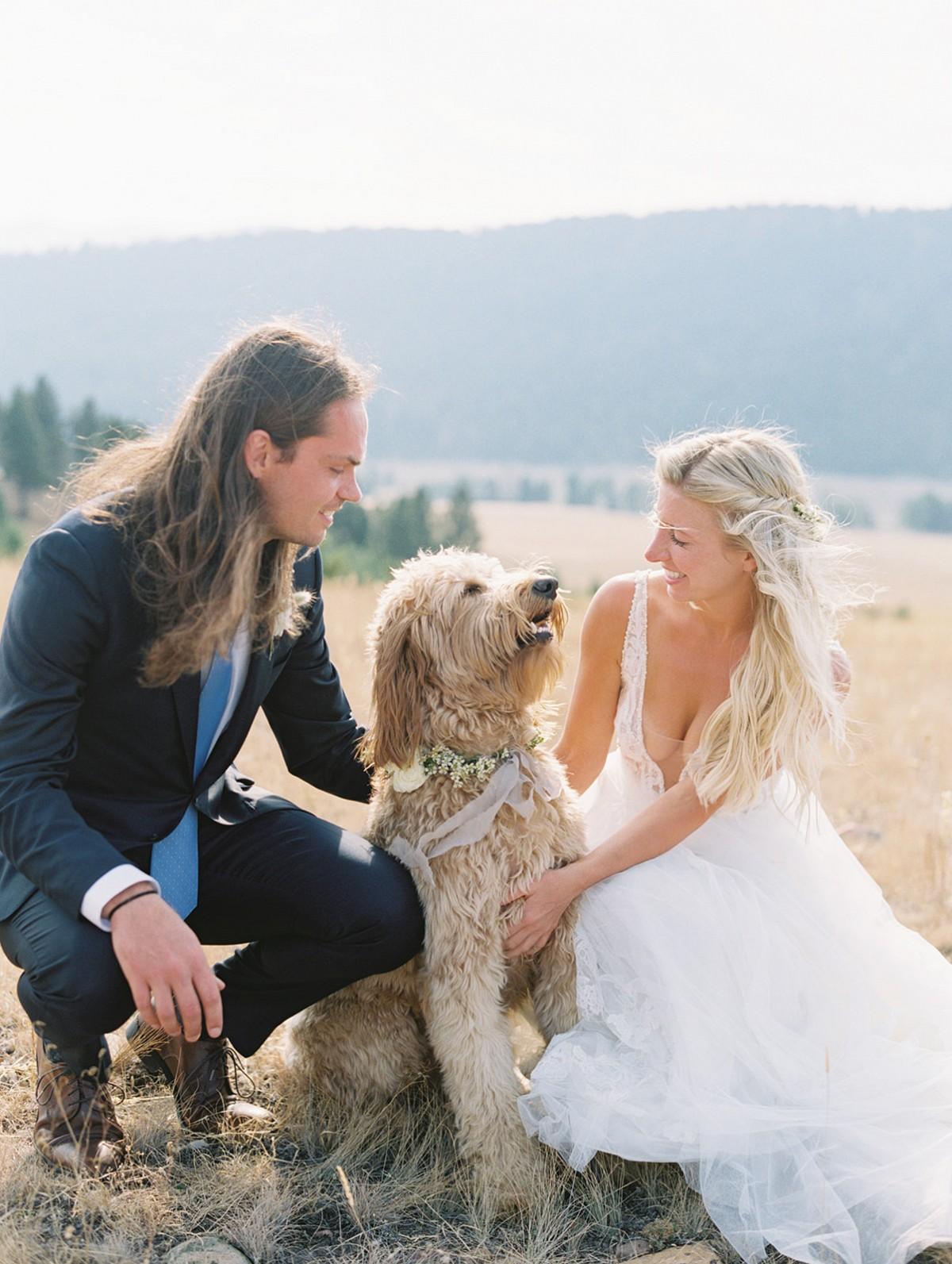 Montana Wedding With Bride & Groom Arrival on Horseback!