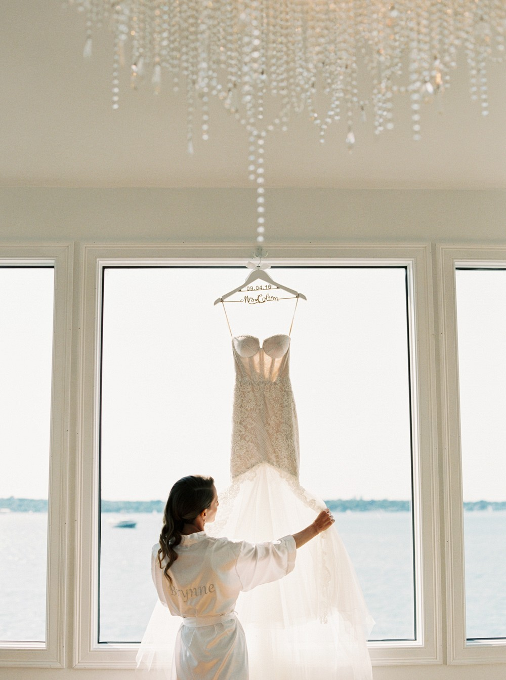 Brynne and Scott's Rustic Nautical Wedding at Belle Mer