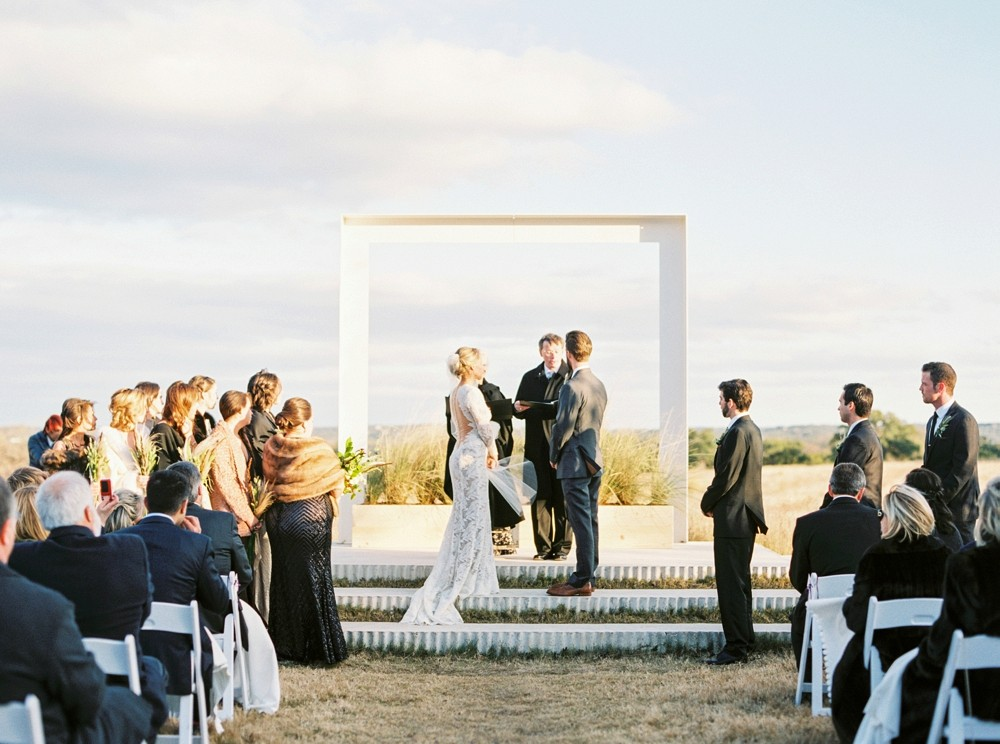 Molly and Kirk's Hill Country Wedding