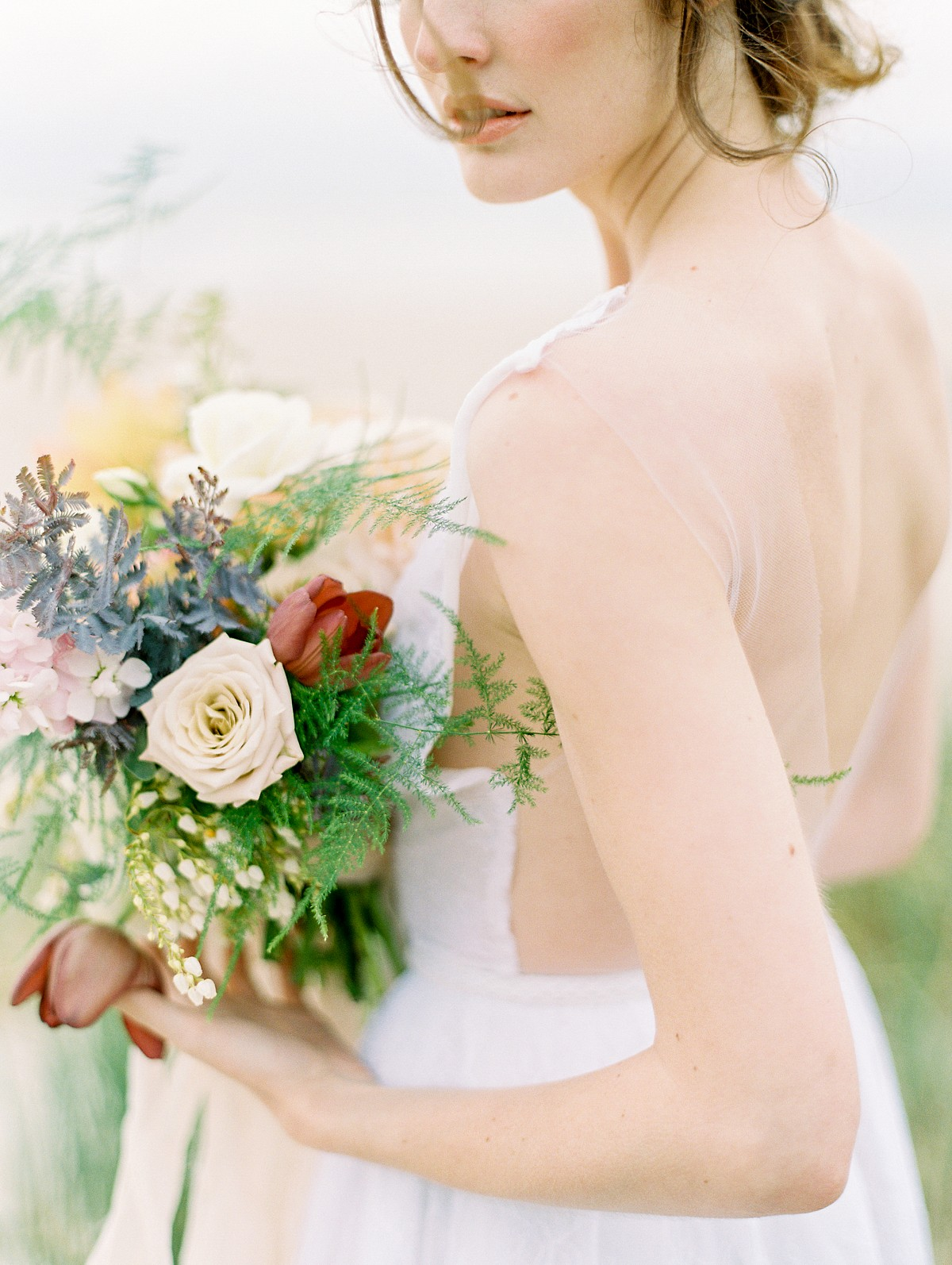 Organic Colorful Coastal Wedding Ideas