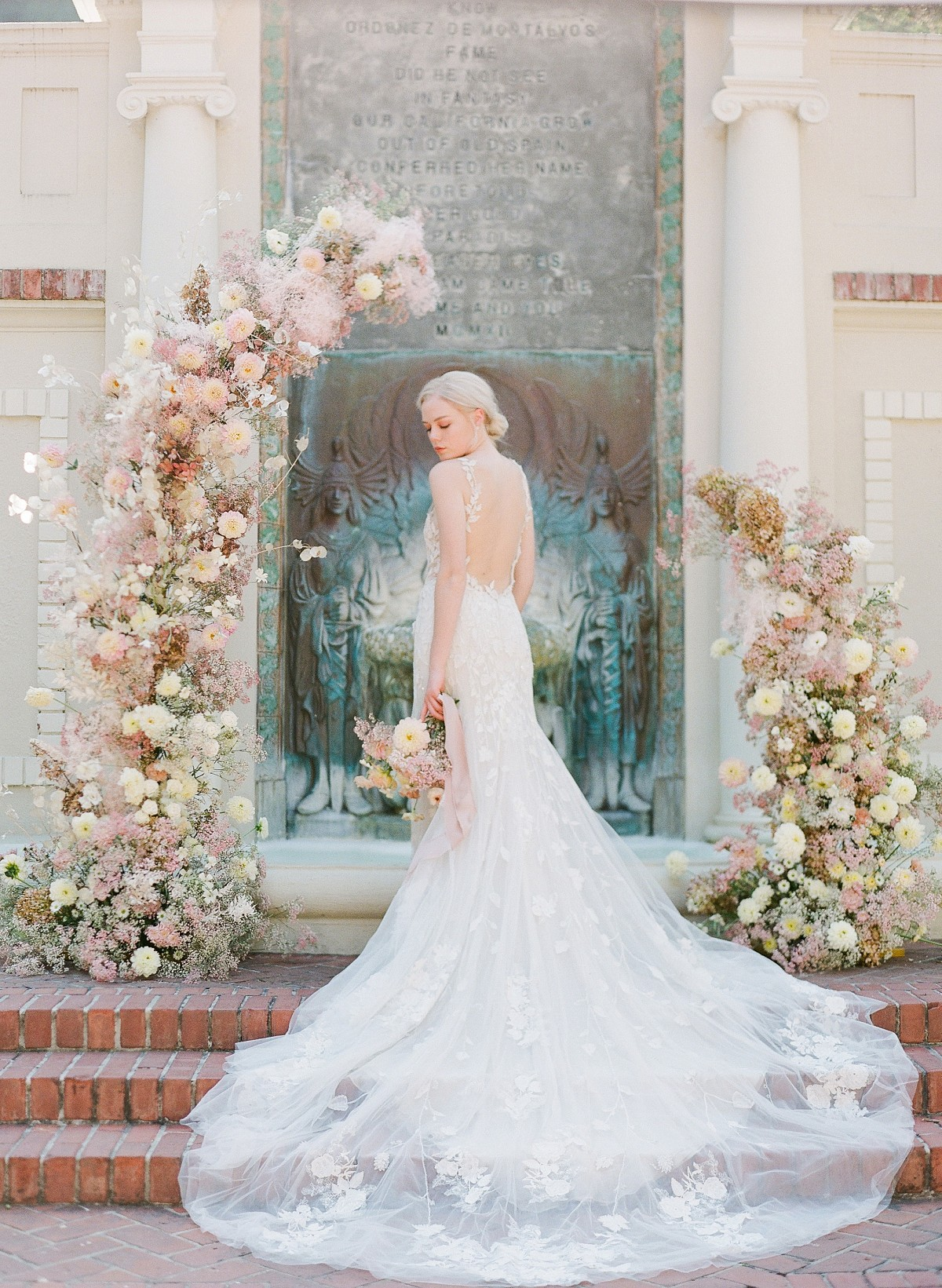 Tuscany in California with Monique Lhuillier Gowns