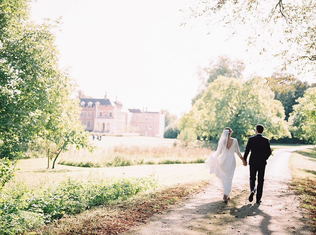 English Country Manor House Wedding in the Fall