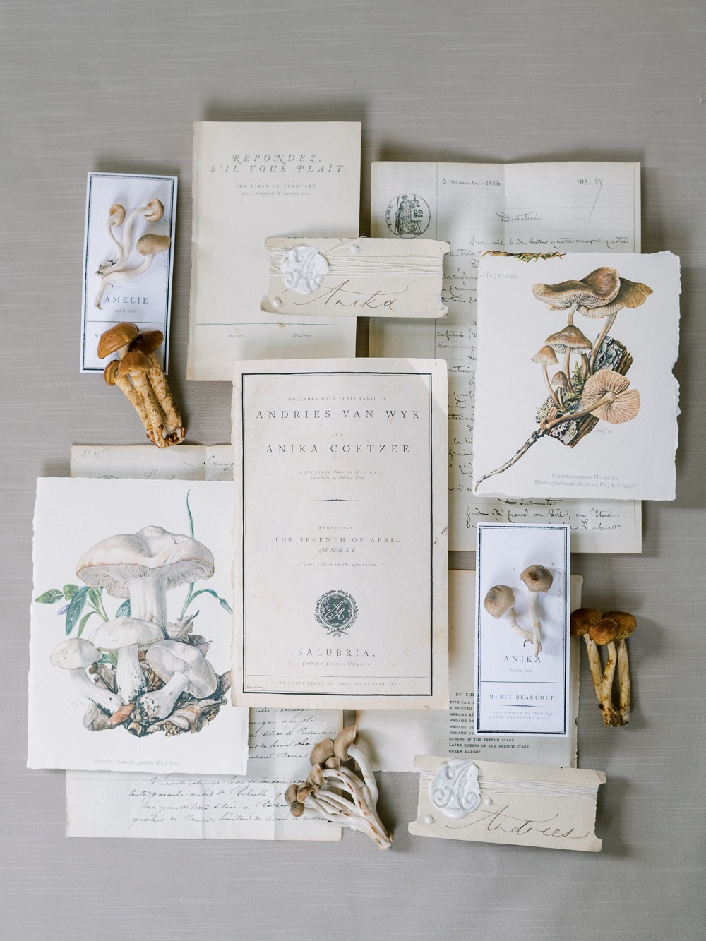 Delicate & Haunting Wedding Style at Salubria Manor House