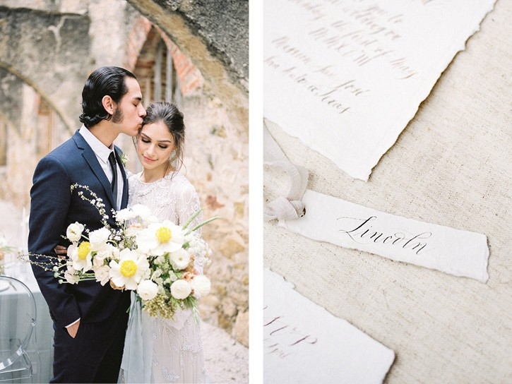 San Antonio Mission Wedding Inspiration