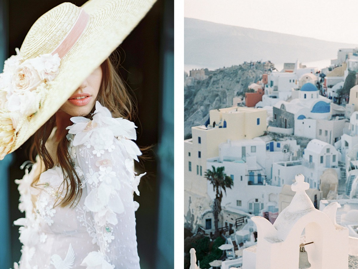 Santorini wedding ideas