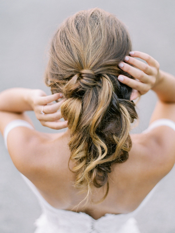 Blush, Rose, and Grey Romantic Wedding Inspiration
