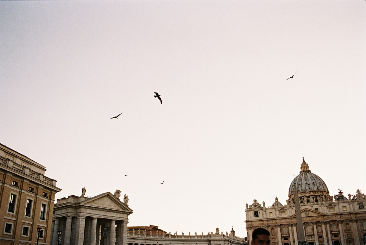 Vatican and Rome engagement session