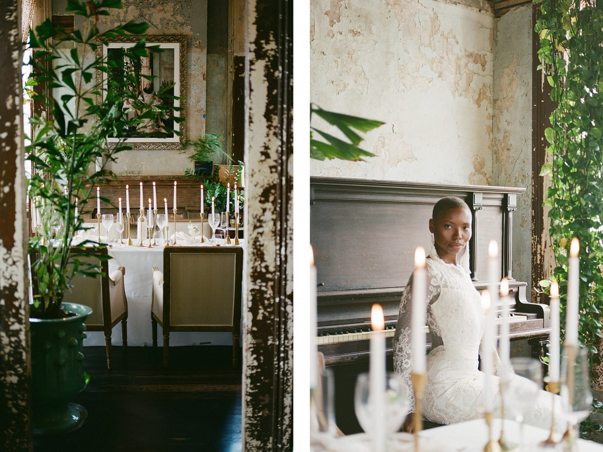 Modern Vintage Wedding Style in New Orleans