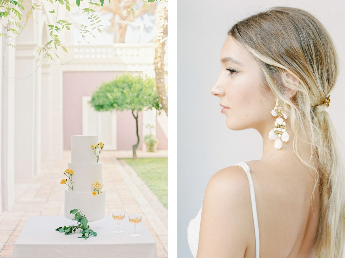 Stunning editorial at hilltop hideaway in southern Italy