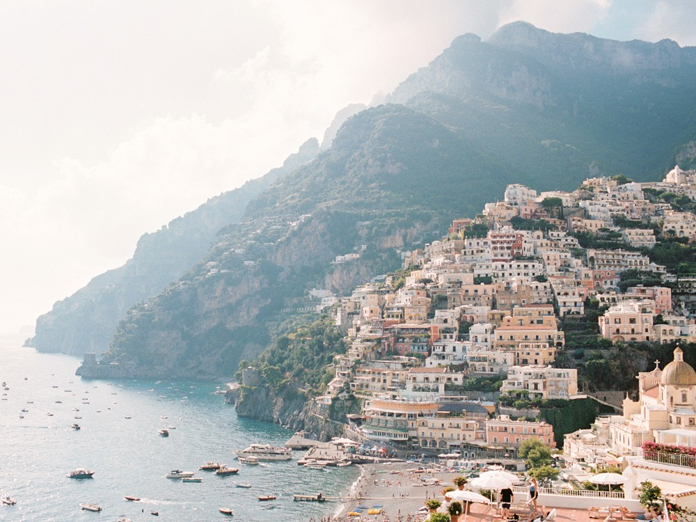 Bold and Intimate Wedding in the Amalfi Coast