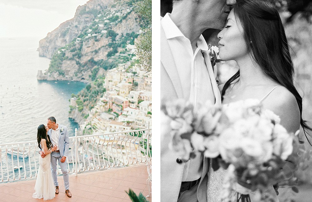 Sergio Sorrentino - destination wedding in Positano