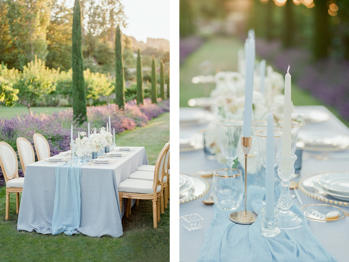 Fifty Shades of French Blue - Wedding Inspiration