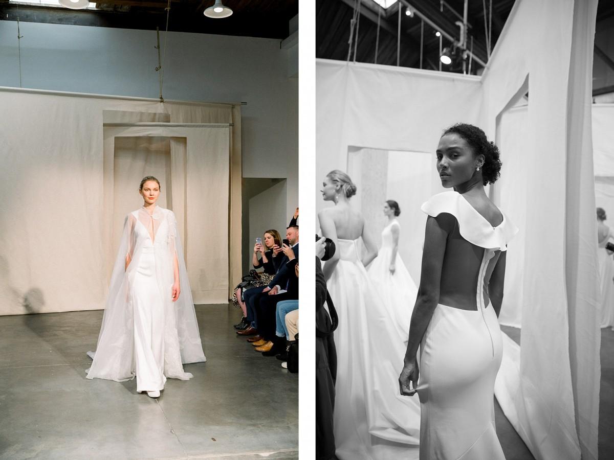 geometric wedding dresses