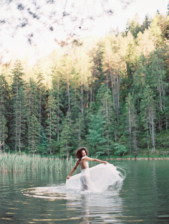 Austrian Lakeside Bridal Session