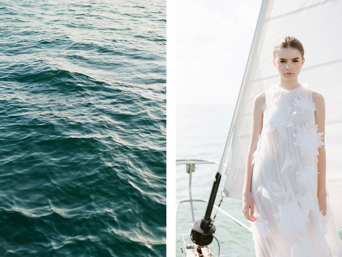 Smooth Sailing - A Nautical Journey Through 2021 Bridal Trends