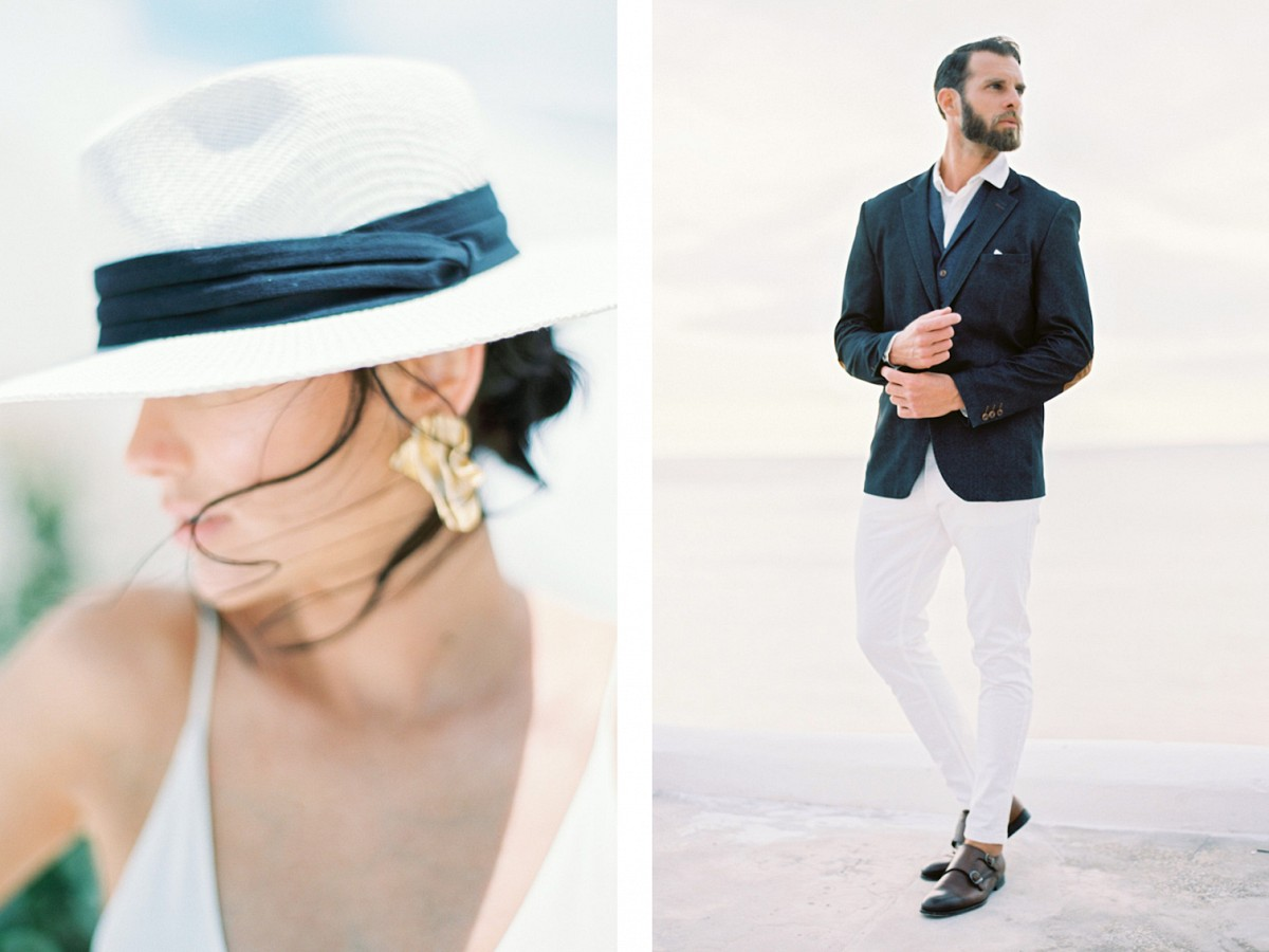 Elegant White & Blue Wedding Ideas from the South of France