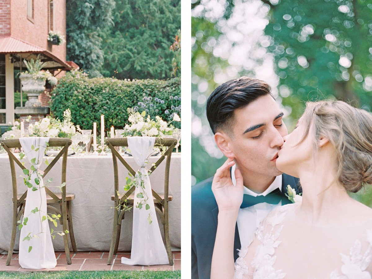Timeless and Spring Wedding Inspiration at Lairmont Manor