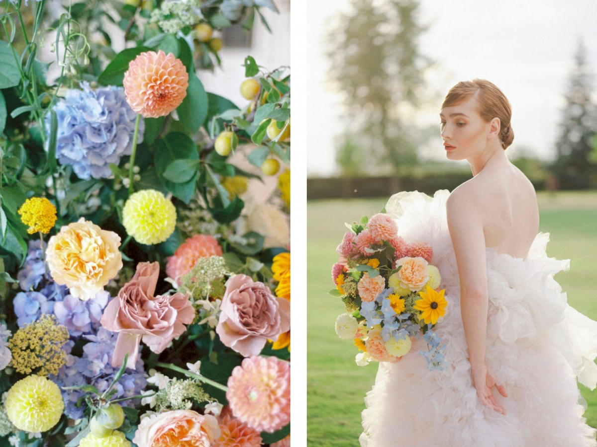 Summer Citrus Burst Full of Color for Your Wedding Style