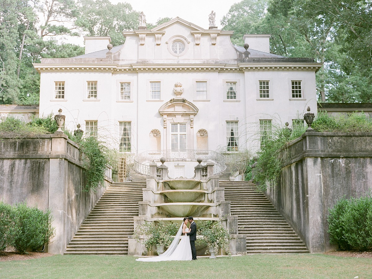 swan house atlanta - wedding venue - lost coast photography