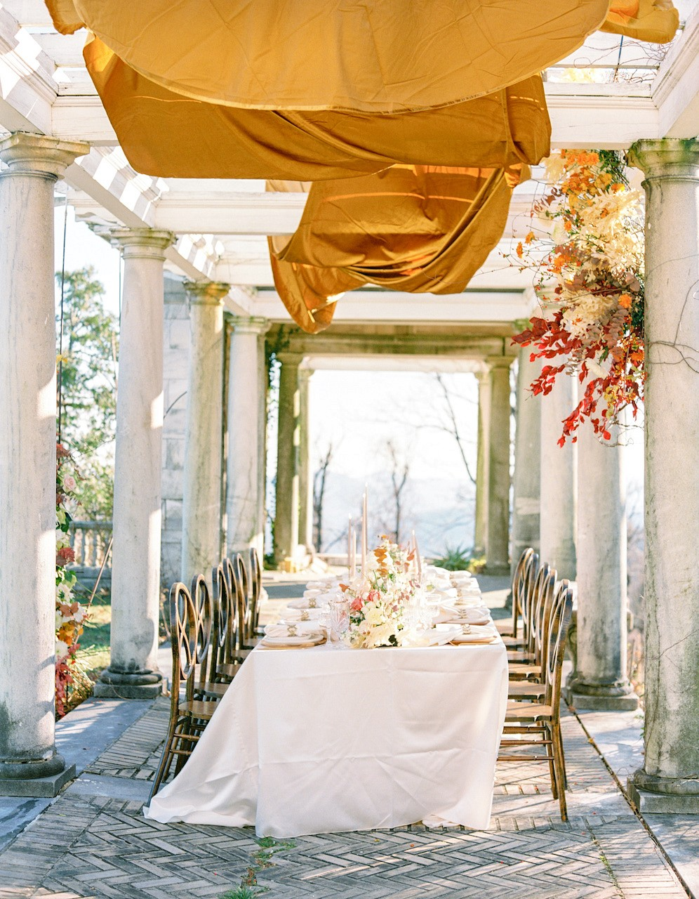Autumnal Grandeur with Ochre & Golden Tones