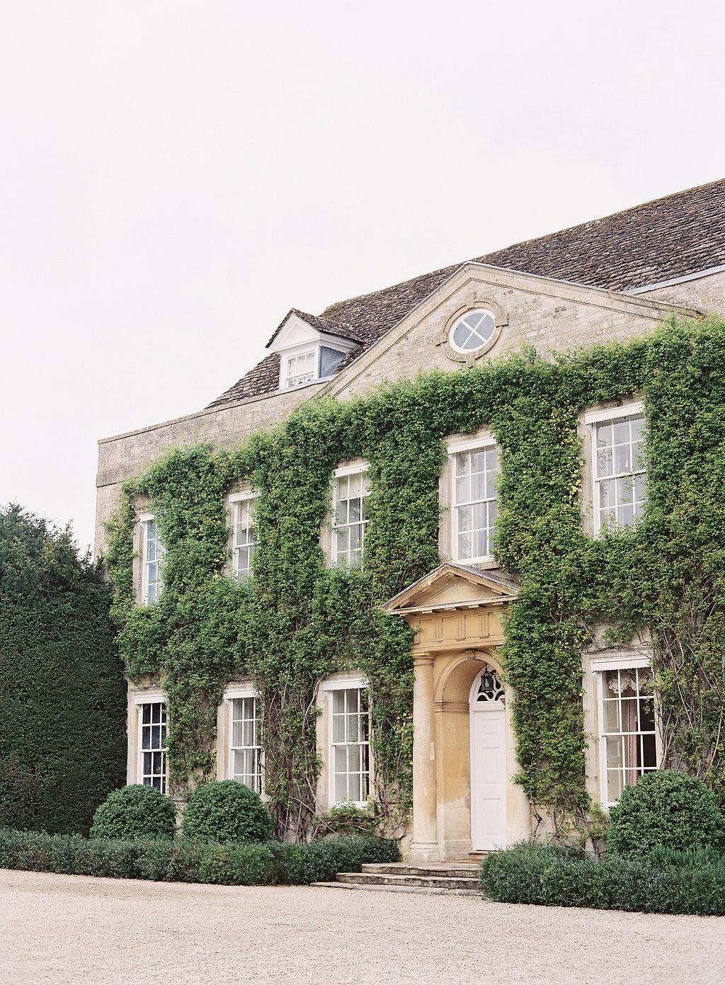 English Manor Country Wedding
