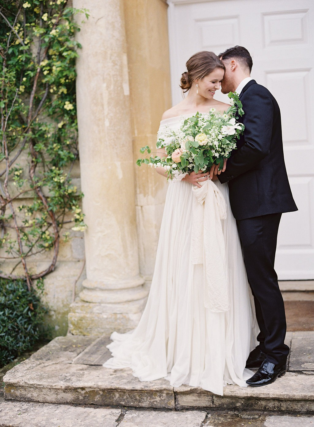 English Manor Country Wedding