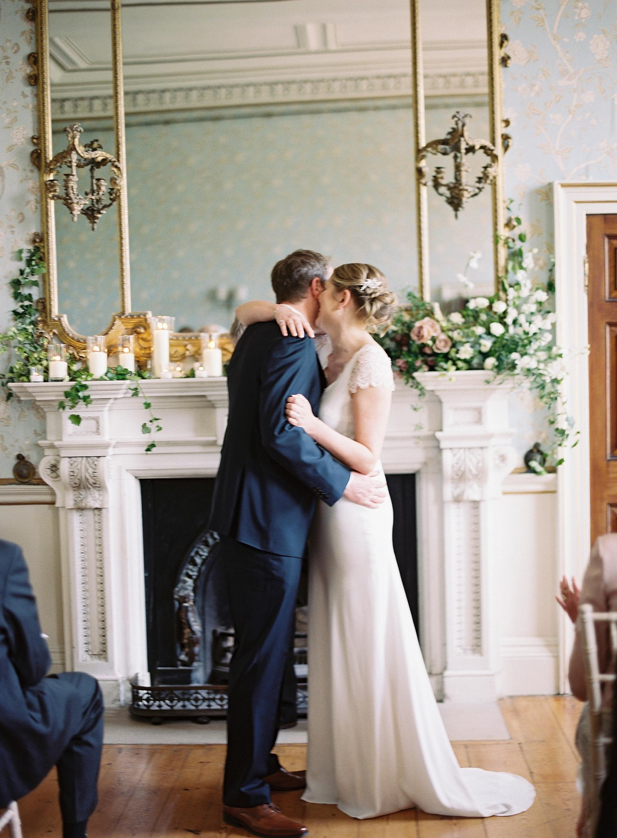 Abi and Chris' Intentional, Minimal Devon Wedding
