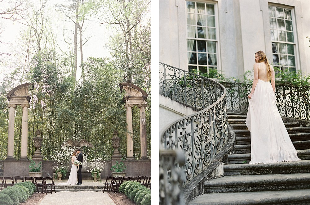 The Swan House - Atlanta Georgia wedding venue