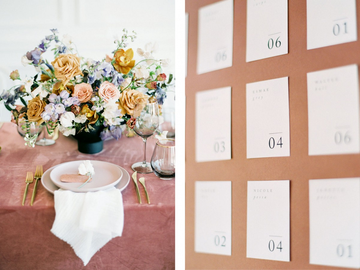 Contemporary Terracotta Wedding Ideas
