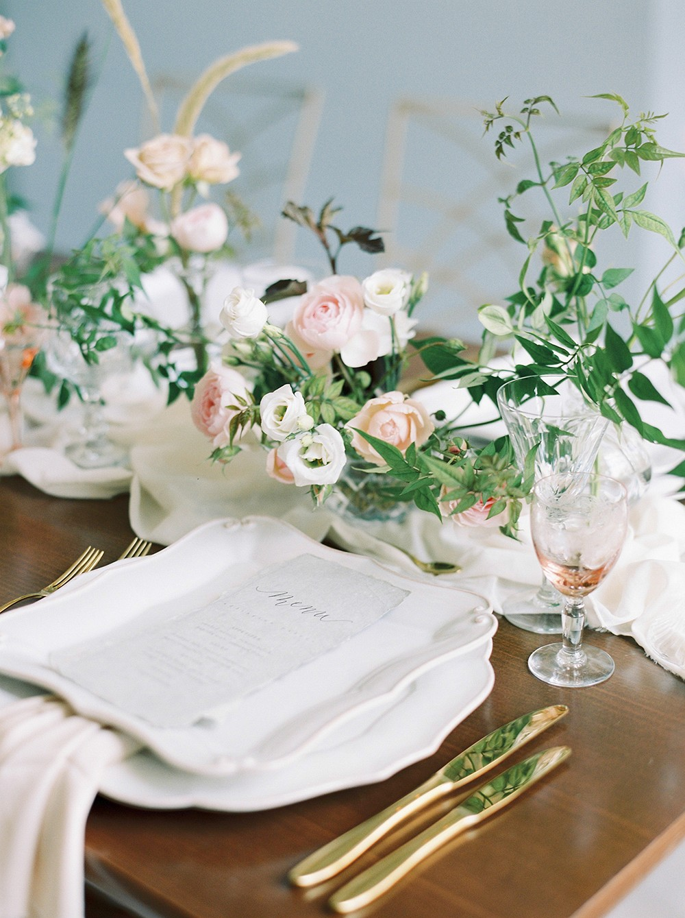 London City Wedding with a Delicate Organic Style