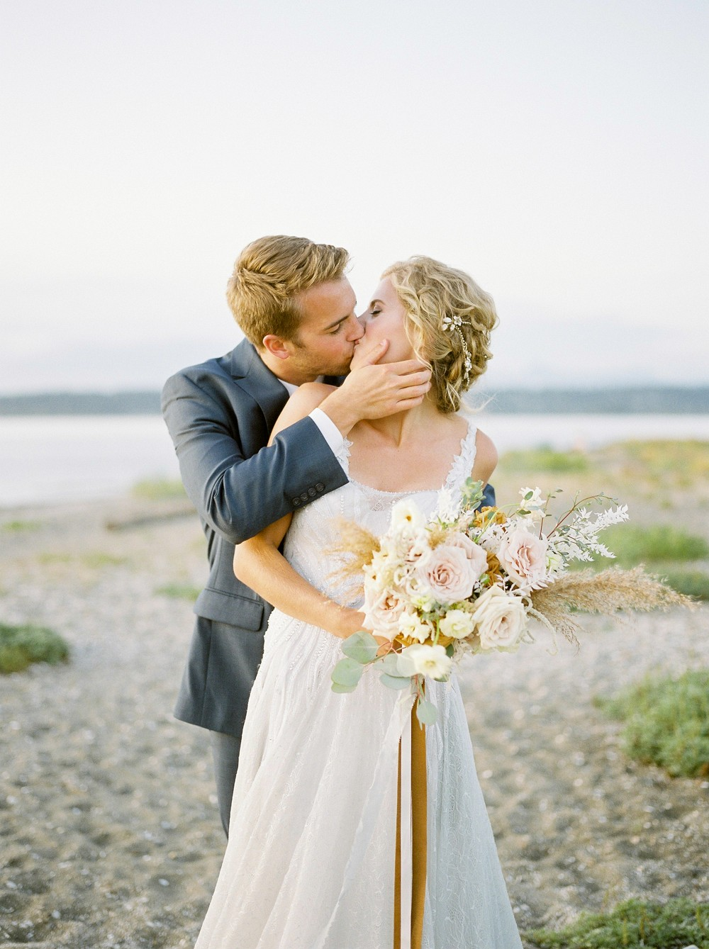 Coastal Inspiration for Brides Avoiding the Beachy Look