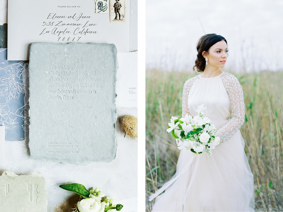 Texas Winter Beach Wedding Inspiration